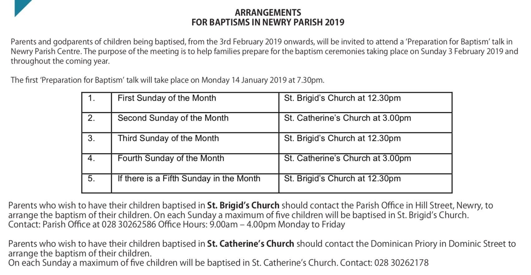 06-01-19_Newry_Bulletin_Small_pdf - Newry Cathedral Parish